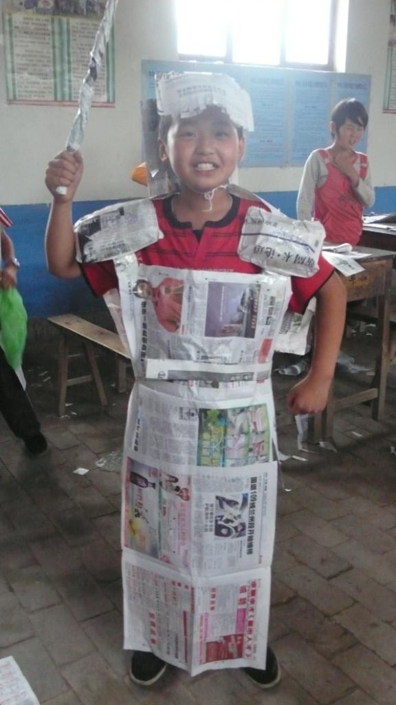 2011年甘肃组——我的低碳服装秀