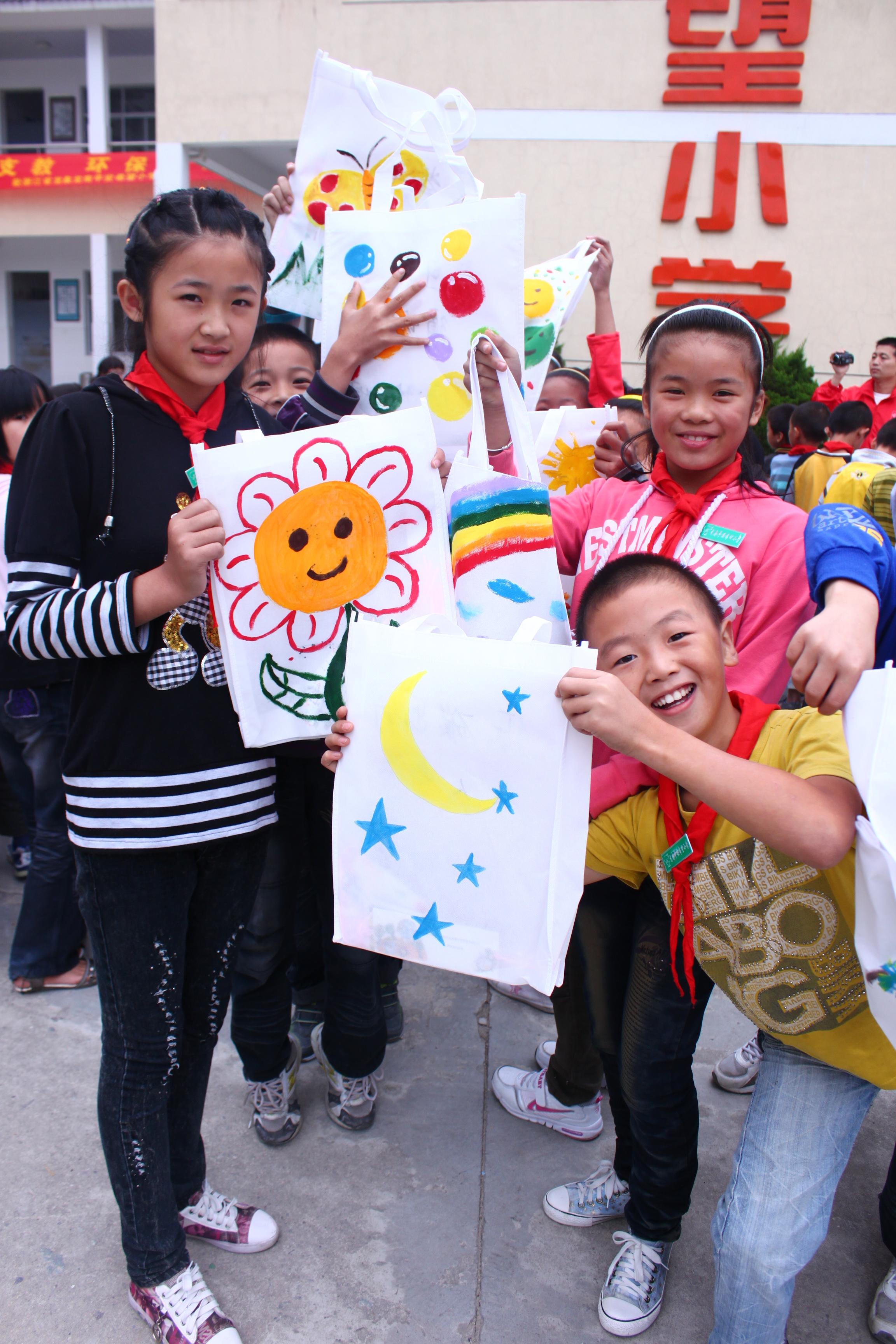 2011年浙江组——收到环保袋